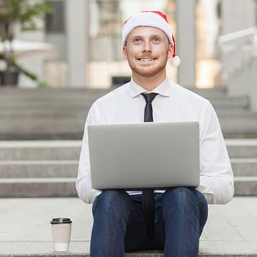 Christmas recruiter