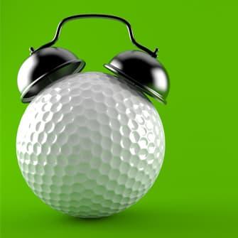 Golf day countdown