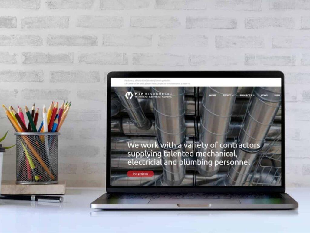 MEP Resourcing new website