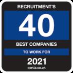 Top 40 recruitment company
